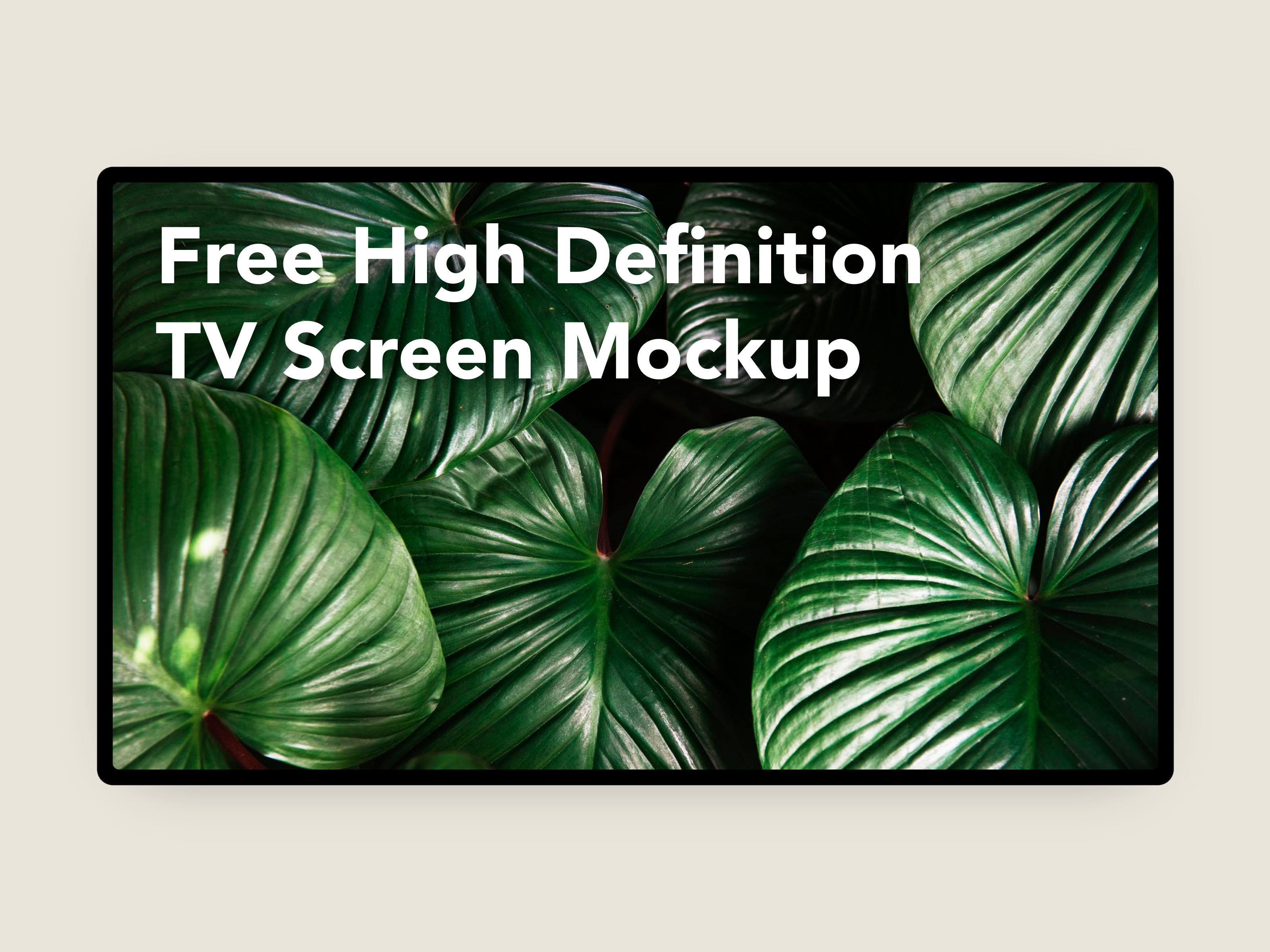 free-high-definition-tv-creen-mockup